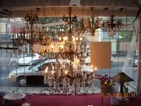 CHANDELIER BUSINESS for SALE(2) - Montreal,Quebec