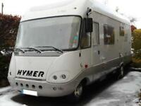 Hymer S740 A Class Motorhome. One Owner from New. Rear Garage