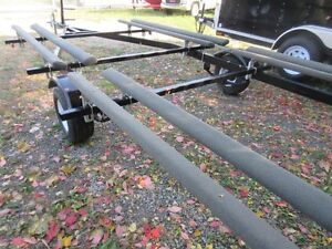 2016 PONTOON BOAT TRAILER  18FT To 21FT  BUNK WITH LADDER Kawartha Lakes Peterborough Area image 9