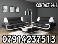 PALERMO SOFA RANGE CORNER SOFA 3+ 2 SETS ARM CHAIRS AND FOOT STOOLS 54987