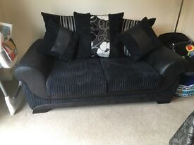 Double seater sofa only 6 months old with upgraded foam cushions