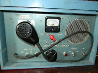 Old Antique Portable Base CB Radio / Marine