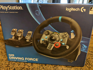 Logitech G29 Race Wheel PS4/PC