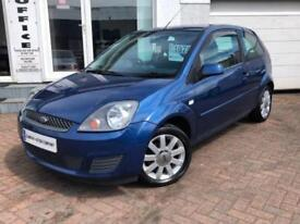 2007 07 FORD FIESTA 1.2 SILVER LIMITED