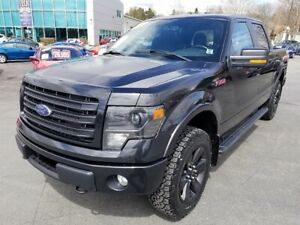 2014 Ford F-150 FX4 / 6.2L / Super Crew / Leather