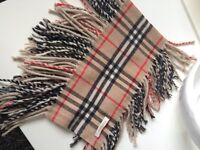 Beautiful Burberry Scarves