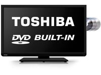"40"" Toshiba FullHD LED TV with built in DVD -Delivery Available"