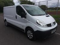 2012 Renault Trafic 2.0dCi COMPLETE WITH M.O.T AND WARRANTY,, SAT-NAV RADIO