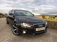 "2010 Audi A4 2.0 Tdi SE 143 Bhp 6 speed. New 20"" TTRS Alloys. Finance Available"