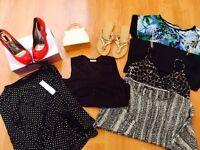 ** HUGE GOOD QUALITY LADIES CLOTHING BUNDLE SIZE 14-16, 50+ ITEMS! **