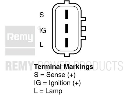 Premium Reman Alternator fits 2001-2007 Lexus SC430 LS430