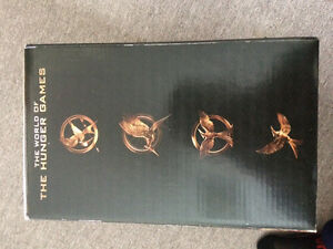 World of the hunger games bookends