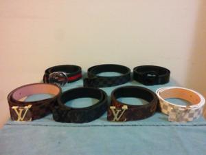 Variety of UA Belts