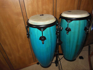 Percussion set of 2 Toca Drums