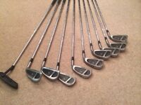 Set of irons and putter