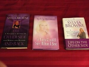 "WORLD REKNOWN PSYCHIC ""SYLVIA BROWNE""  Books/ CD/Tapes Peterborough Peterborough Area image 3"