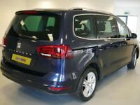 2016 SEAT Alhambra 2.0 TDI CR SE [150] 5dr DSG Diesel blue Automatic