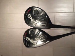 Ping G25 Lefty Hybrids Good Condition