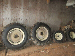 Tractor tires and rims