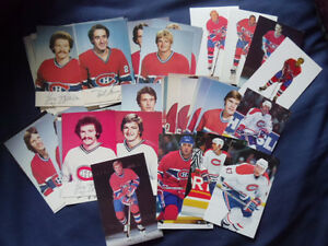 MONTREAL CANADIENS PLAYER POSTCARDS