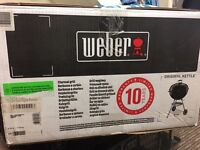 WEBER ORIGINAL KETTLE BBQ SET FOR SALE. LESS THAN HALF PRICE. LIMITED STOCK..HURRY