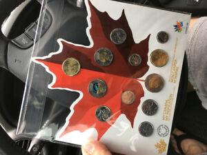 2017 Canadian coin set