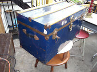 Vintage Chest Great for Coffee Table with Storage