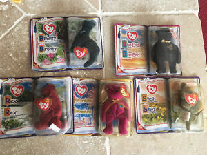 Good condition TY registered beanie baby originals for sale