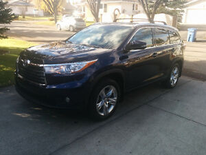 2014 Toyota Highlander Limited SUV, Crossover