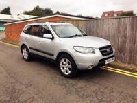 2008 Hyundai Santa Fe 2.2 CRTD CDX 100,000 MILES SILVER