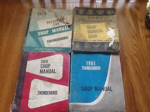 Ford Thunderbird manuals