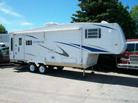 2005 GULF STREAM INNSBRUCK SUPREME 27 FT  5TH WHEEL