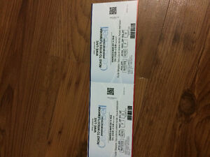 Billet wwe live road to wrestlemania