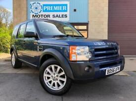 2006 (56) LAND ROVER DISCOVERY 3 2.7 TD V6 SE, 7 SEATER, SAT NAV, HEATED LEATHER