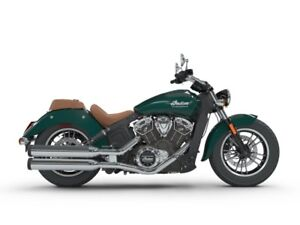 2018 Indian Motorcycle Scout Metallic Jade