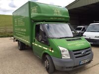 Ford transit Lwb Luton with tail lift 58 Reg 1 owner