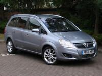 FINANCE AVILABLE!!! 58 REG VAUZHALL ZAFIRA 1.9 150 CDTi Elite 5dr 6 SPEED,
