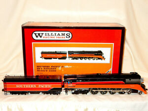 WILLIAMS CROWN EDITION BRASS SOUTHERN PACIFIC GS-4 DAYLIGHT STEA