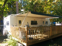 26' Travel Trailer In Campbellford *GOLF CART*