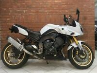 2012/12 Yamaha Fazer 8 With 14724 Miles Finished In White