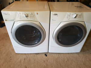 Whirlpool front load washer and dryer