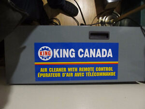 king canada air cleaner for wood working shop with remote.