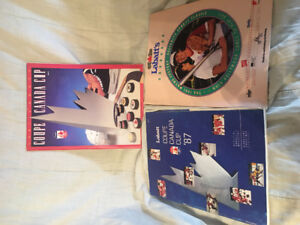 1987 and 1991 Canada Cup Programs