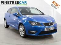 2012 SEAT IBIZA 1.6 TDI CR FR SportCoupe 3dr