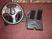 Ps2 racing controller