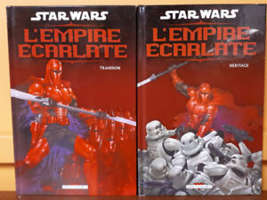 Star Wars L'Empire écarlate Hardcovers Éditions Delcourt 2006