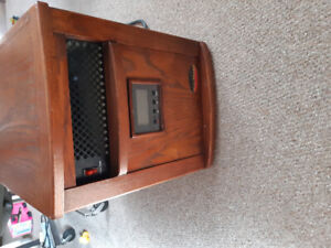 Wooden infrared heater .....large unit