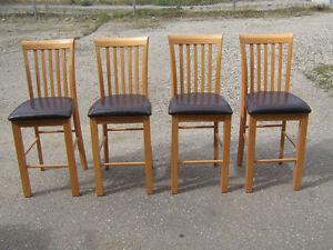 4 Dining room island / bar chairs.