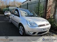 FORD FIESTA ZETEC CLIMATE TDCI, Silver, Manual, Diesel, 2005 GREAT HISTORY