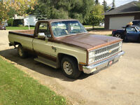 1986 CHEV  6.2 diesel - runs but great for parts or fix it up